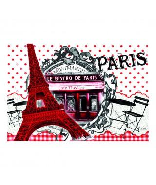Salvamanteles vintage Bistro de Paris Orval Creations
