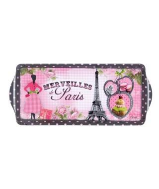 Bandeja vintage Pequeña Merveilles de Paris Orval Creations