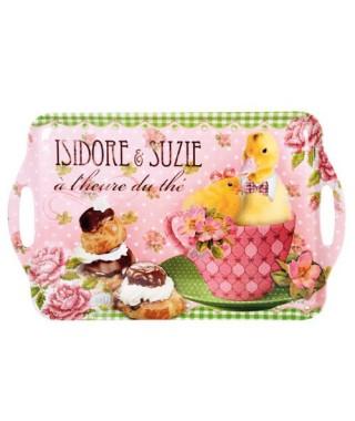 Bandeja vintage Mediana Isidore Suzie Orval Creations