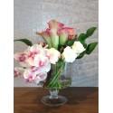 Arrangement of Roses, Roses, Cymbidium