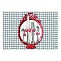 Salvamanteles vintage Diner de Gala Orval Creations