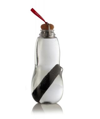 Botella ecológica con carbón activo Roja
