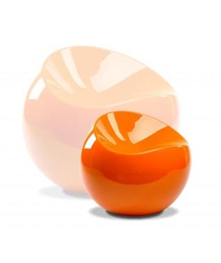 Silla esférica pequeña c/ Naranja