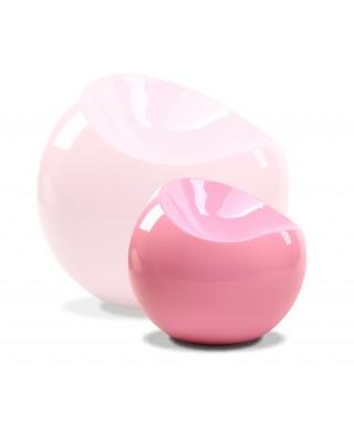 Silla esférica pequeña c/ Rosa Pastel