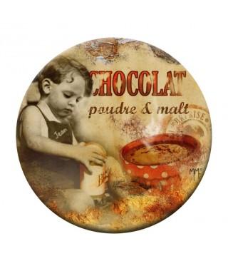 Abridor magnético vintage Chocolat Poudre Orval Creations