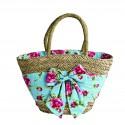 Pink Magnolia Beach Bag